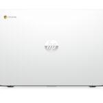 "3c15 – HP Chromebook (14"", Turbo Silver), Catalog, Back facing"
